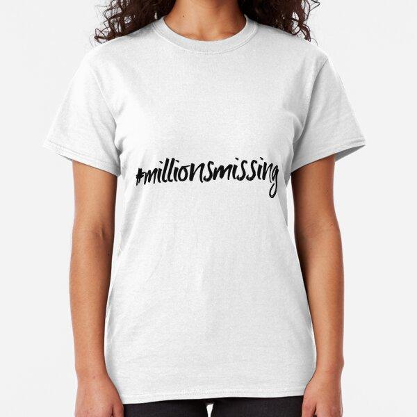 ME/CFS: #millionsmissing Classic T-Shirt