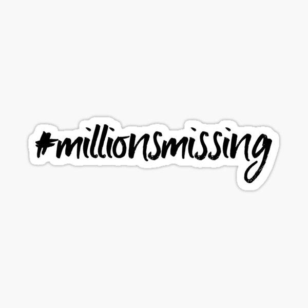 ME/CFS: #millionsmissing Sticker