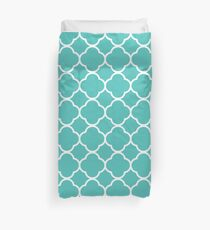 Abstract Arabic Graphic Pattern Duvet Cover