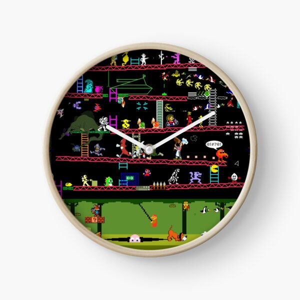 50 Video Game Classics Clock