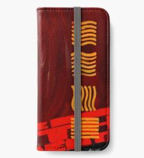 A digital painting for the movie fifth element  iPhone Wallet/Case/Skin