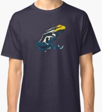 Yellow and blue poison dart frog Classic T-Shirt