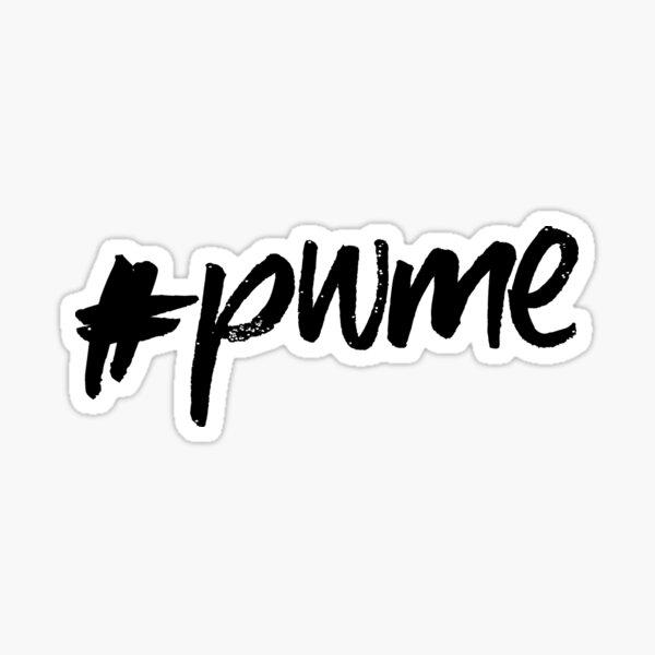 ME/CFS: #pwme Sticker