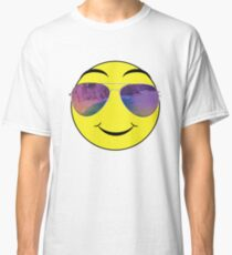 Emoticons with sunglasses  Classic T-Shirt
