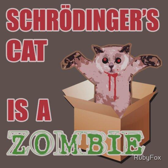 TShirtGifter presents: Schrodinger's ZombieCat