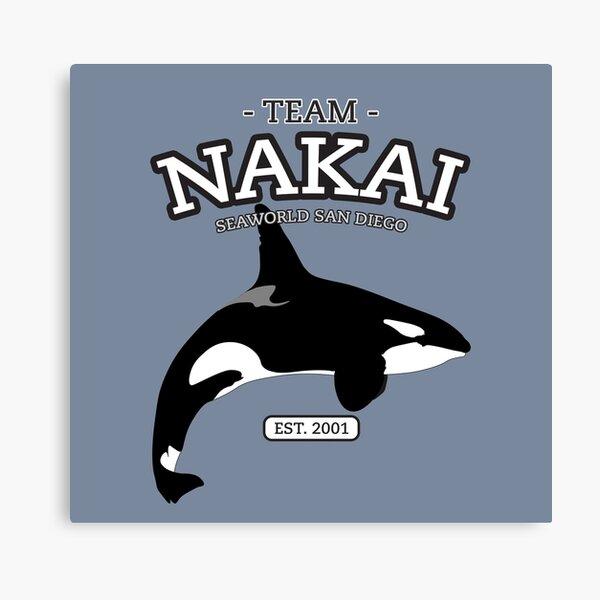 Team Shamu - Nakai Canvas Print