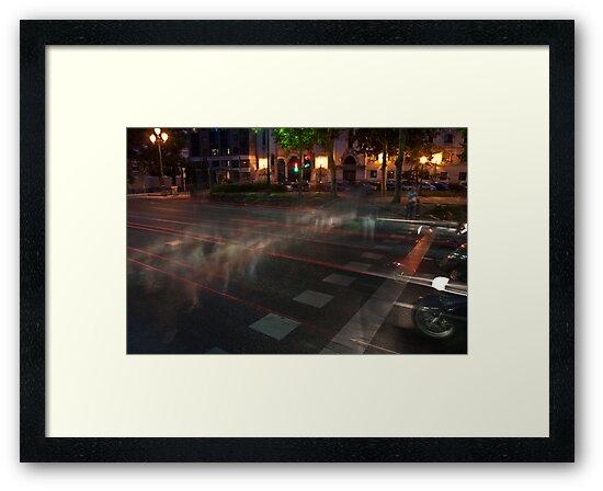 Crosswalk by Gerardo Sánchez