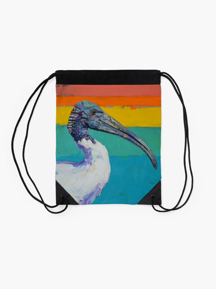 Alternate view of 'Dinosaur hips and the useful tool' Drawstring Bag