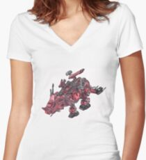Redhorn Women's Fitted V-Neck T-Shirt