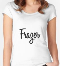 Hey Frazer buy this now Women's Fitted Scoop T-Shirt