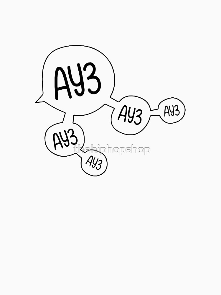 Ay3 by thehiphopshop