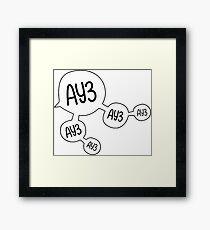 Ay3 Framed Print