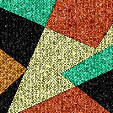 Southwestern, Mosaic, Geometric Design by Jessielee72