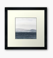 She sells sea shells.... Framed Print