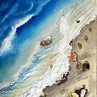 Shoreline: Drawing Breath, paradise lost by Alma Lee