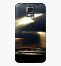 Sonnenstrahlen. Hülle & Klebefolie für Samsung Galaxy