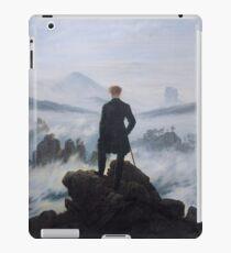 Wanderer above the Sea of Fog - Caspar David Friedrich iPad Case/Skin