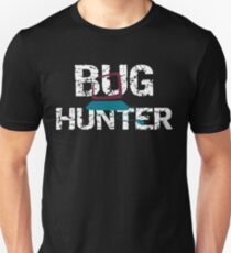Insect Bug Hunter Funny Bug Collector Unisex T-Shirt