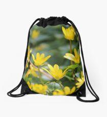 Dancing Buttercups Drawstring Bag