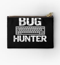 Insect Bug Hunter Hunting Bugs in the Backyard Studio Pouch