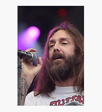 Black Crowes Chris Robinson Color Photo Photographic Print