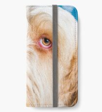 """Italian Spinone """"Delicate Thoughts"""" iPhone Wallet/Case/Skin"""