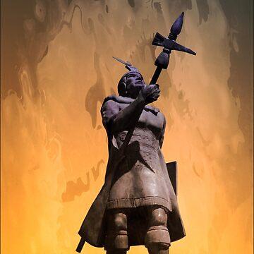 Inca King Huayna Capac IV by alabca