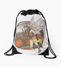 Aefwine - Autumn Harvest Fairy Drawstring Bag