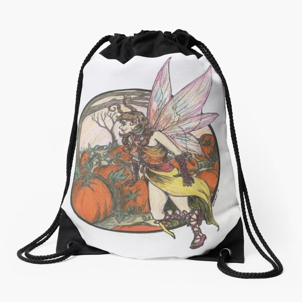 Aefwine - Autumn Harvest Fairy Drawstring Bag