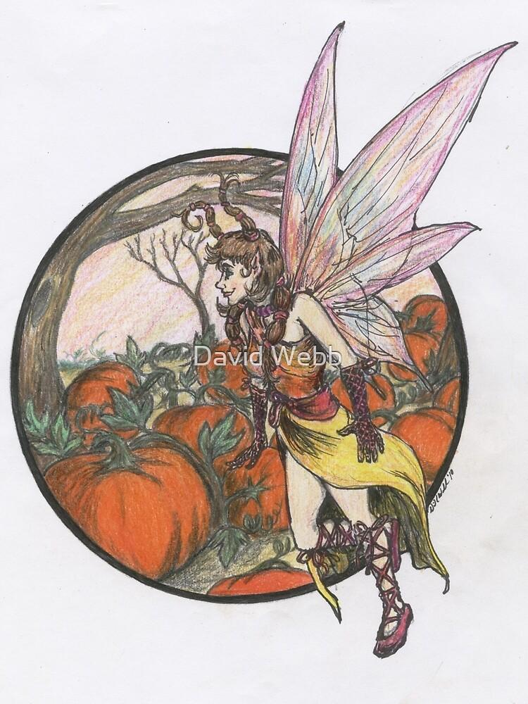 Aefwine - Autumn Harvest Fairy by GraphiteWeb