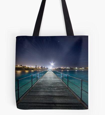 Port Noarlunga Jetty - After Dark Tote Bag