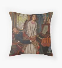 The Awakening Conscience - William Holman Hunt Throw Pillow