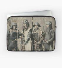 Samurai warriors vintage photograph Laptop Sleeve