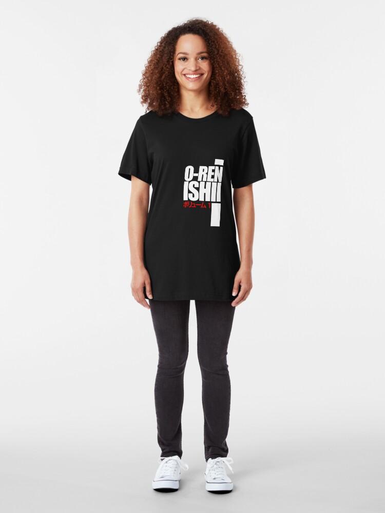 Alternate view of Oren Ishii, Kill Bill (White) Slim Fit T-Shirt
