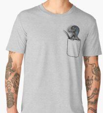 Pocket - Baby Blue Men's Premium T-Shirt