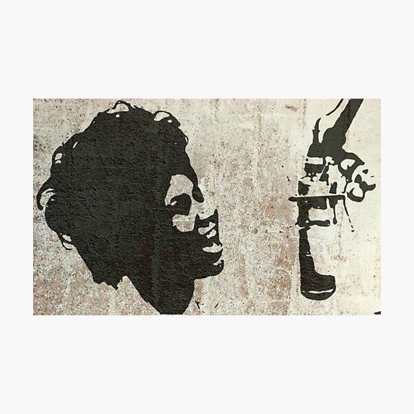 Graffiti Art - Queen of Soul Photographic Print