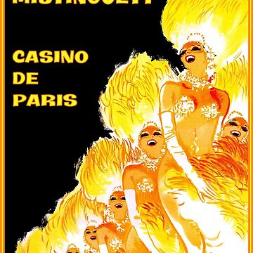 CASINO DE PARIS : Vintage Mistinguett Chorus Line Advertising Prints by posterbobs
