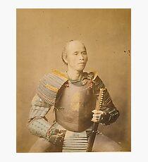 Samurai Warrior Photographic Print