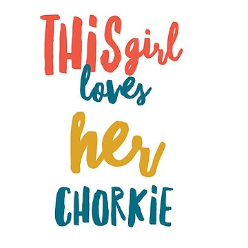 This girl loves her chorkie by CharlyB