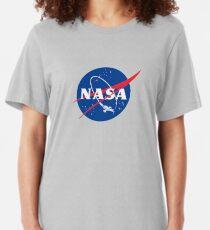 NASA LOGO SERENITY (FIREFLY) Slim Fit T-Shirt