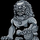 Chinese Lion Iron by Malchev