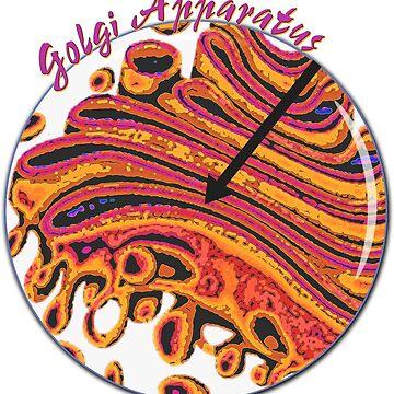 Olgi Golgi Apparatus Jam Band Nerd Science Biology by TeeCreations