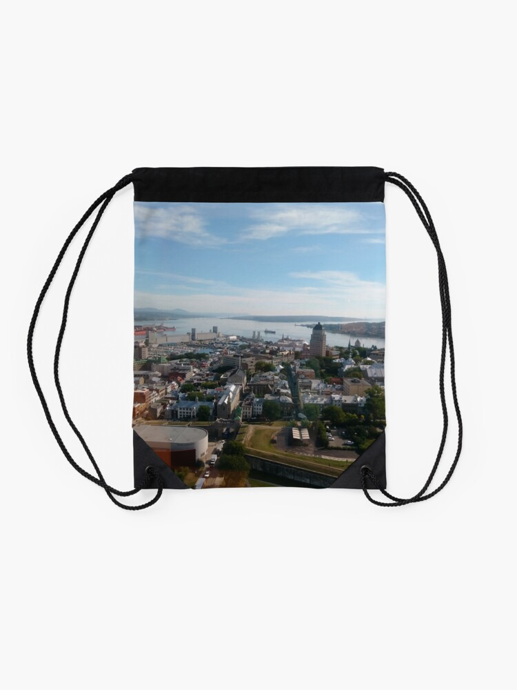 Alternate view of New York, #New, #York, #NewYork, New York City, #NewYorkCity, #Manhattan, #Skyscraper  by znamenski New York, #New, #York, #NewYork, New York City, #NewYorkCity, #Manhattan, #Skyscraper Drawstring Bag