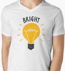 Bright Idea! Men's V-Neck T-Shirt