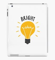 Bright Idea! iPad Case/Skin