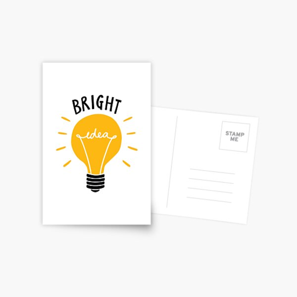Bright Idea! Postcard