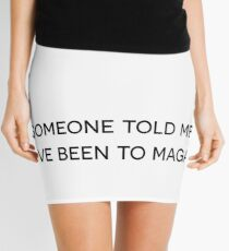 I've Been to Magaluf Mini Skirt