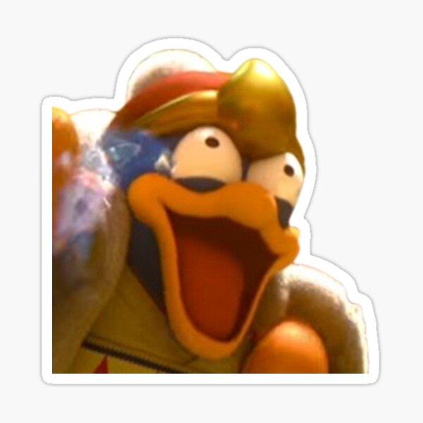 King Dedede Laughing Sticker