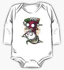 Body de manga larga para bebé tacos y unicornios