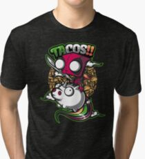 tacos and unicorns  Tri-blend T-Shirt